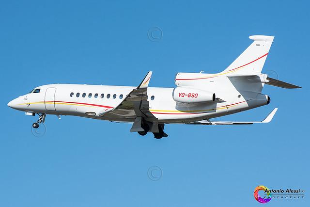 VQ-BSO Shell Aircraft International LIN