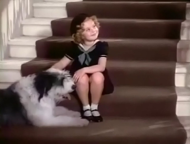 Shirley Temple with Dog,