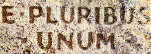 E PLURIBUS UNUM from a corroded penny | by Specious Reasons