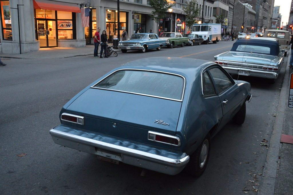 1970 1980 Ford Pinto 1964 Mercury Park Lane Ii Cabriolet Flickr