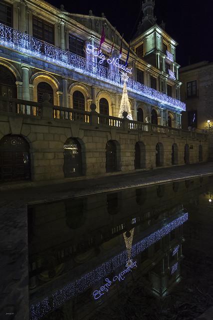 Casa Consistorial de Toledo (Navidad 2017-18)
