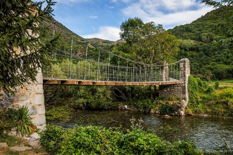Puente colgante de Barruera
