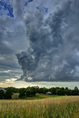 Storm clouds, White County, Tennessee   by Chuck Sutherland