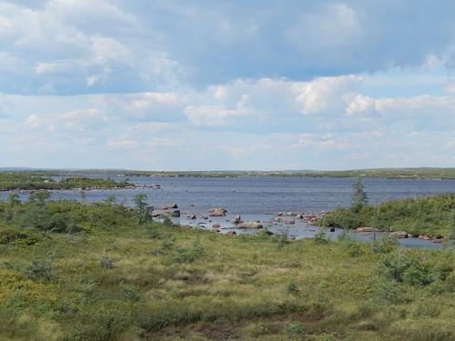 Labrador Highway - terug naar Red Bay - 2
