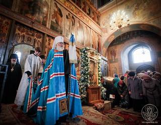 Литургия в Софийском соборе 770