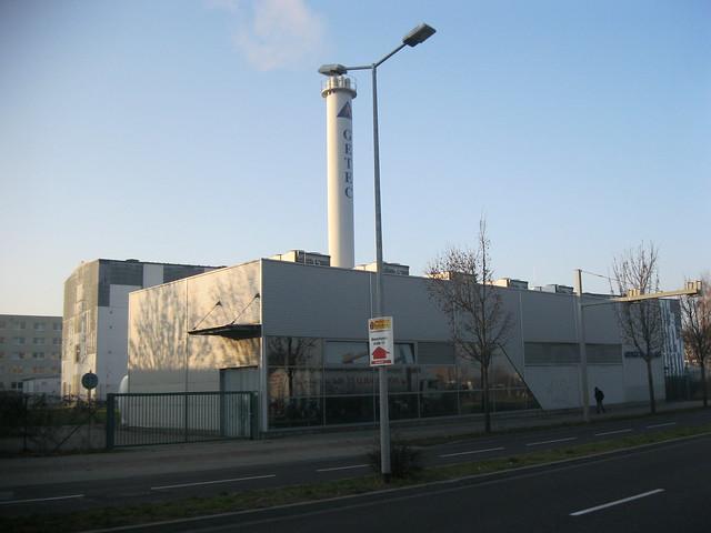 1998 Magdeburg GETEC-Erdöl-/-gas-Blockheizkraftwerk 3,8MWel./15MWtherm. Sandtorstraße 21 in 39106 Alte Neustadt