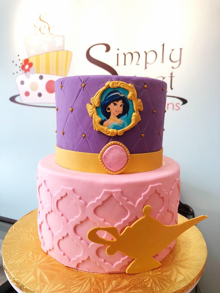 Princess Jasmine Cake Simply Sweet Creations Flickr