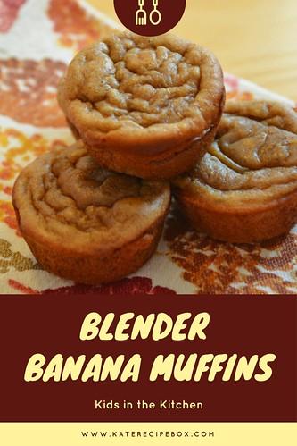 Banana Blender Muffins | by katesrecipebox