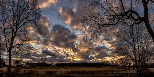 gpsfreinds tn tennessee usa unitedstates williamsoncounty animal barn brook cloud countryside creek dusk farm farmhouse fence field goldenhour horse house idyllic land landscapephotography mammal panorama pasture rural scenic stream sunset water wideangle winter