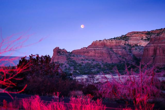 Red Rocks Eclipse