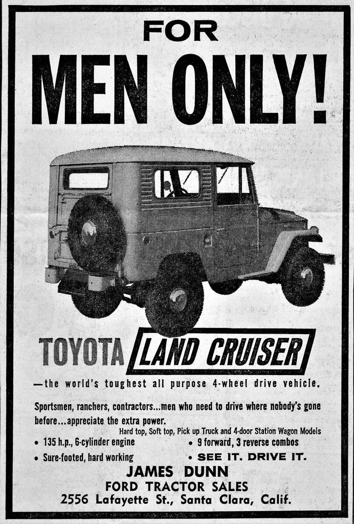 Vintage Toyota Land Cruiser Poster