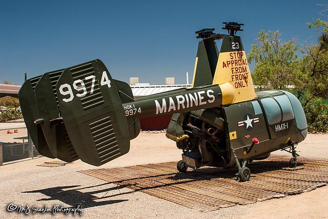 139974 USMC   Kaman HOK-1 Huskie   Pima Air & Space Museum