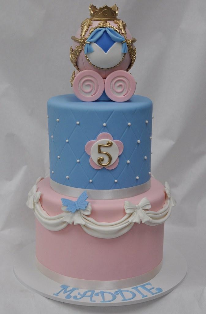 Magnificent Cinderella Birthday Cake Jenny Wenny Flickr Funny Birthday Cards Online Overcheapnameinfo