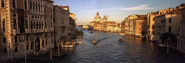 Canale Grande in the evening
