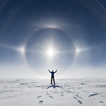 Fanfare for the common man.  Sun dog, halos and a parhelion at the South Pole