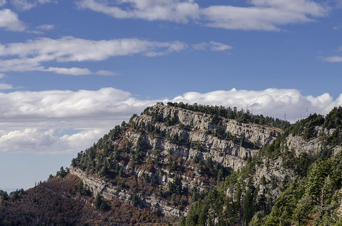 landscape albuquerque sandia mountains outdoor rugged sowthwest western west new mexico sky view kiwanis cabin stone house