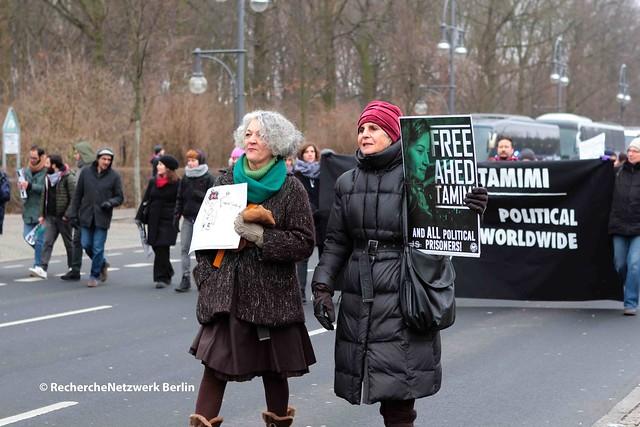 """21.01.2018 Berlin: """"Woman's March"""" wird für israelfeindliche Propaganda instrumentalisiert"""