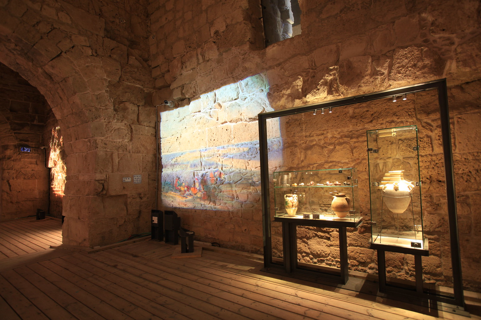 Archaeological display in the Knights' Halls_IMG-1049