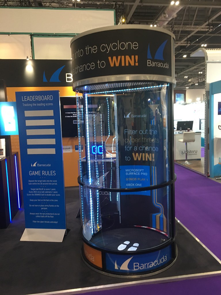 Exhibition Stand Game : Cyclone game exhibition stand attraction barracuda booked u flickr