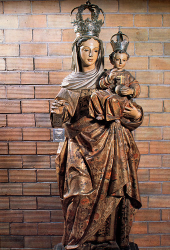 """Ntra. Sra. de """"Stella Maris"""" [1] - Cedida por las Carmelitas Descalzas de Antequera del 1962 al 1986."""