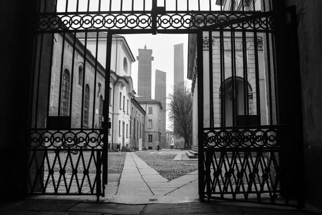 Pavia in bianco e nero - Pavia in black and white.