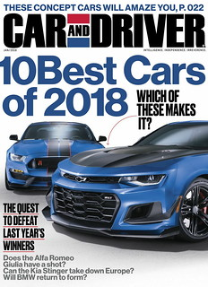 Car and Driver 1/2018