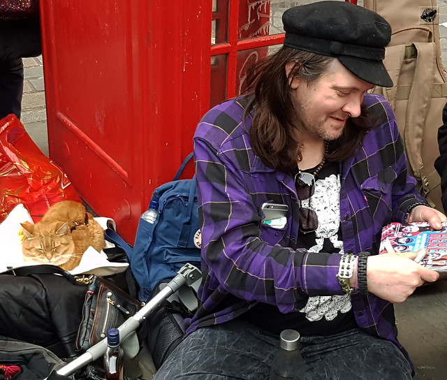 Street Cat Bob and James Bowen