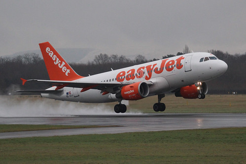 easyJet Airbus A319-111 - Runway Visitor Park, Manchester Airport, Saturday 20th January 2018 | by ChrisPDay