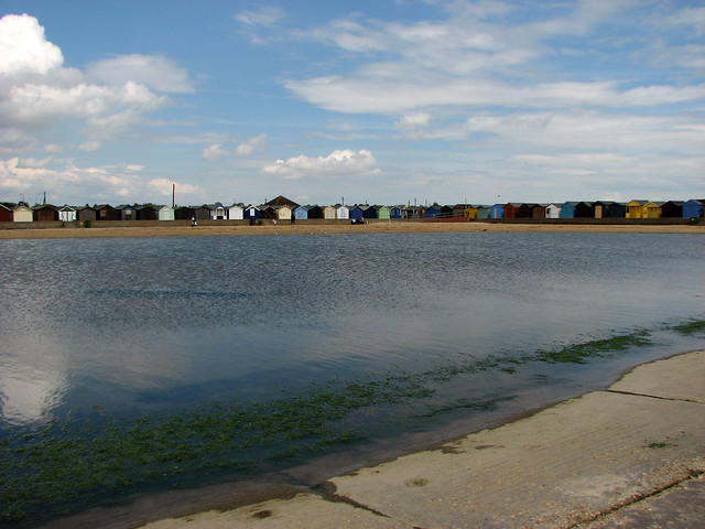 Boating lake at Brightlingsea