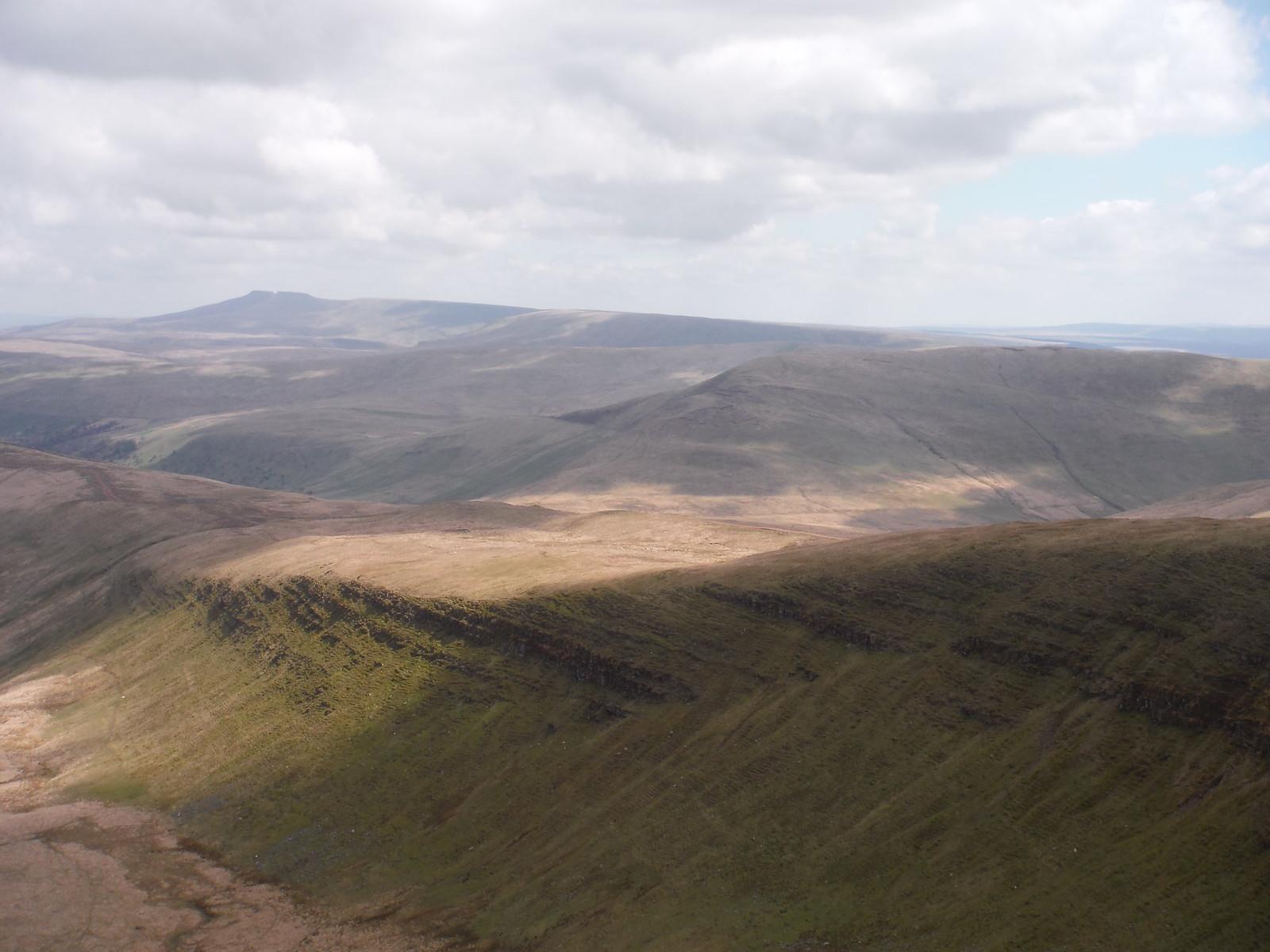 Fan Nedd, Fan Dringarth, Corn Du and Pen y Fan SWC Walk 307 - Fforest Fawr Traverse (Craig y Nos to Llwyn-y-celyn)