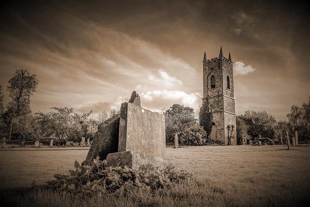 Gravestones at Ratoath Churchyard