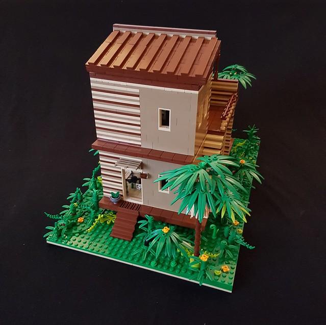Cocoa Jungle Cottage MOC (III)