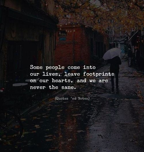 Life Quotes Some People Come Into Our Lives Leave Footp Flickr