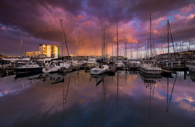 The pink hour - Plymouth Barbican