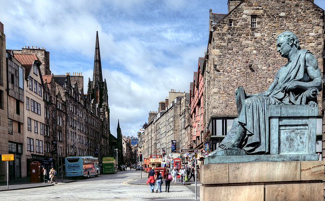 David Hume Out-Consuming the Royal Mile