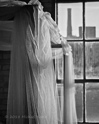 michaelkoole nikon d300 nikkor 24120mmf3556d monochrome bw lace bed window industrial grandrapids michigan kentcounty city