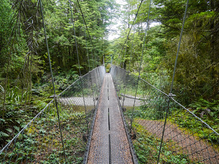 Swinging bridge (sounded like the intro to Thaw by Laurel Halo) | by snackronym