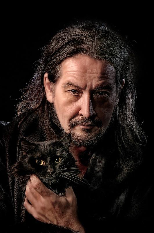 фотограф Челябинск автопортрет с котом Филиппом