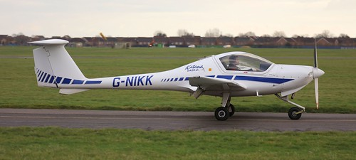 Diamond DA-20C-1 Eclipse G-NIKK Lee on Solent Airfield 2018 | by SupaSmokey