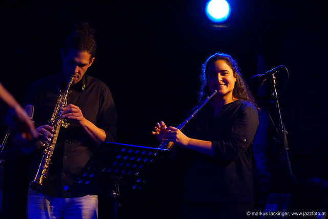 Mehdi Chaïb: sax, perc / Naïssam Jalal: comp, flute
