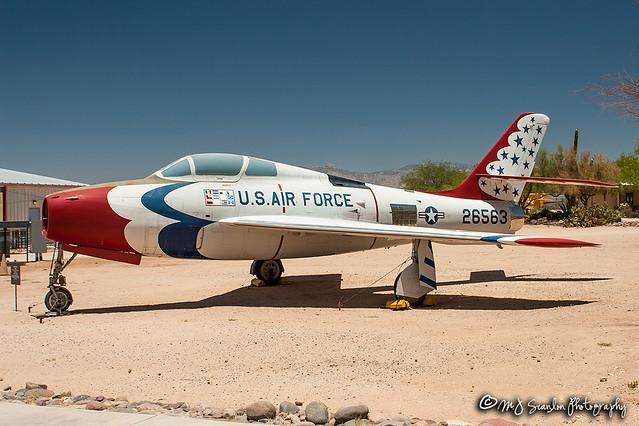 52-6563 USAF   Republic F-84F Thunderstreak   Pima Air & Space Museum