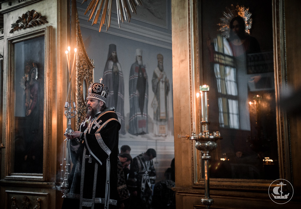 28 февраля 2018, Литургия Преждеосвященных Даров /28 February 2018, The Divine liturgy of Presanctified gifts