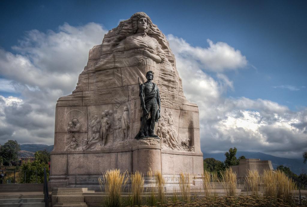 Mormon Battalion Monument editorial photo. Image of