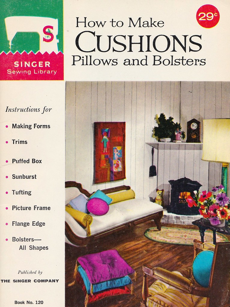 Singer Sewing Library: How to Make Cushions Pillows and Bo