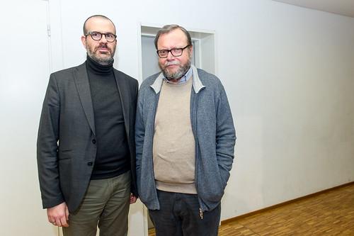 Nello Scavo e e Vito Alfieri Fontana