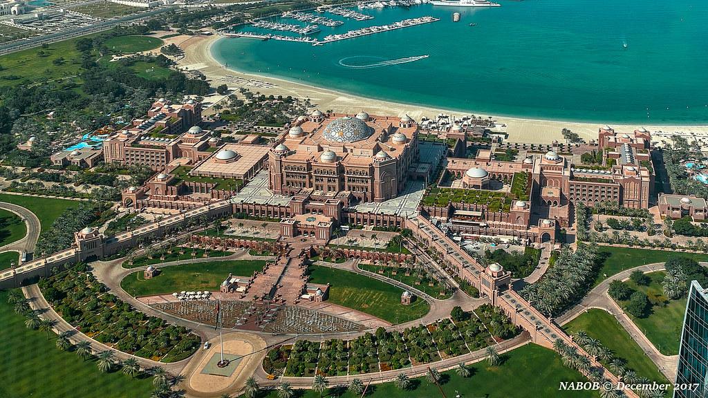 Abu Dhabi, United Arab Emirates: Emirates Palace Hotel vie