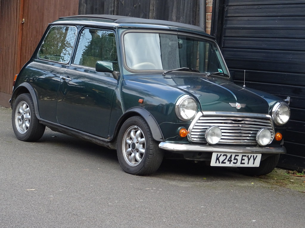 1993 Rover Mini British Open Classic London Central Plates Flickr