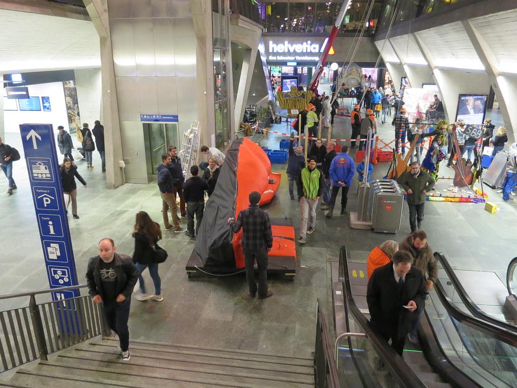 Bahnhof-Guggete Projekt