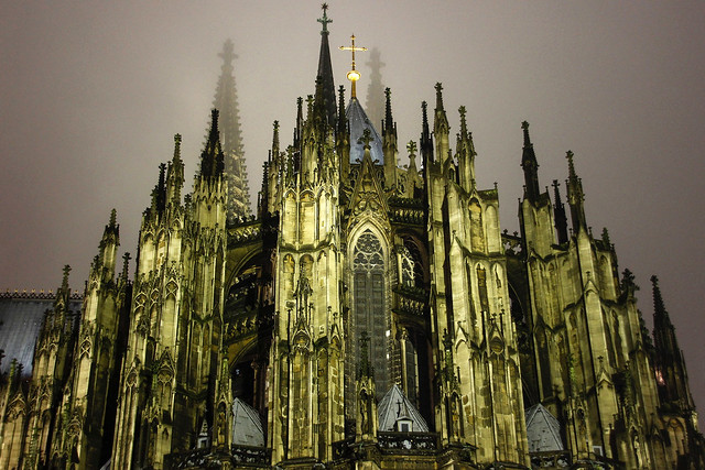 Cologne Cathedral (back view)