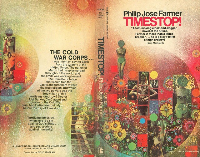 Philip Jose Farmer - Timestop! 1970 pbk